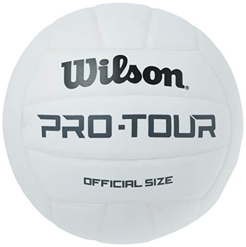 Wilson Pro Tour Indoor Volleyball - White
