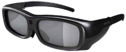 Philips PTA517/00 3D Max Aktiv-Brille Premium (Umschaltmöglichkeit 2-Spieler Fullscreen Gaming)