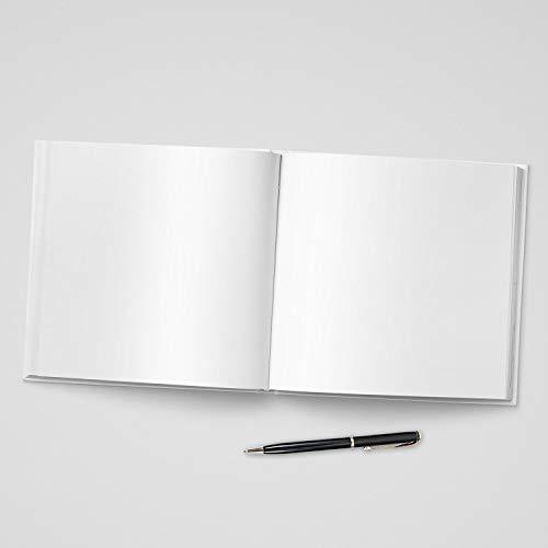 Gästebuch ohne Fragen/weiße Seiten