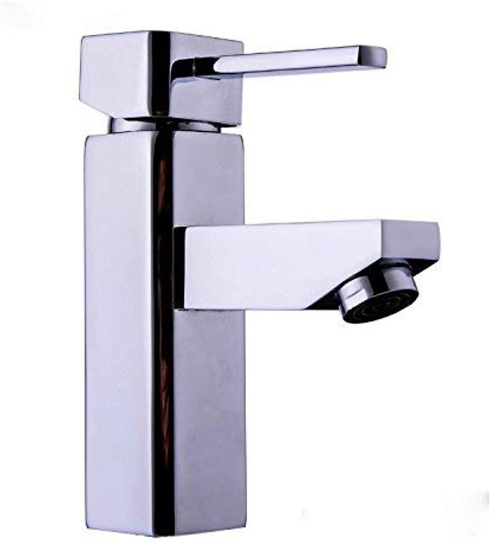 Oudan Bathroom basin faucet hot and cold water mixer faucet Mixed basin four water parties mixer,35mm Single Mixer Taps