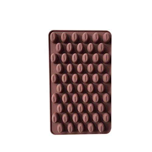 Koffieboon Shaped Ice/Cake/Brood/Cake Matrijzen bakvormen Silikon Non-Stick Cake willekeurige kleur Bakken Cup/Pakket