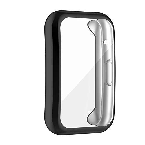 cypressen 3 Stücke Hülle für Hua-wei Watch Fit Schutzhülle Waschbar PC Vollschutz Bildschirm Schutz Schutzhülle für Hua-wei Watch Fit