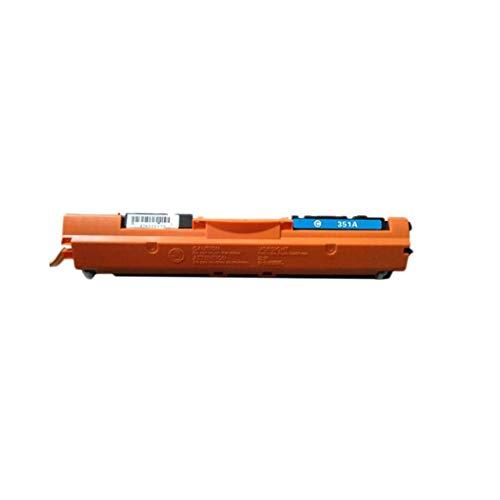 Compatible con HP CF350A CF351A CF352A CF353A Cartucho de inyección de tinta HP M176N Cartucho compacto aplicable a 130A MFP M177FW, Negro - 1300 páginas; Color - 10 blue