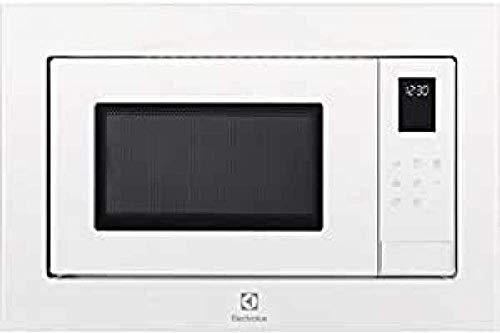 Electrolux LMS4253TMW - Microondas con grill empotrable (25 L, 900 W), color blanco