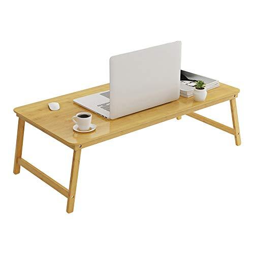 HEMFV Escritorio ergonómico para computadora Computadora de escritorio, Ordenador portátil de la cama del escritorio simple Pequeño escritorio de la tabla principal móvil plegable Lazy cama Estudiante