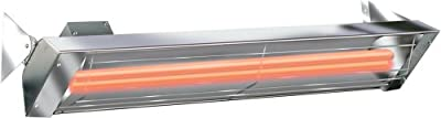 Infratech WD Series 5000 Watt 240V Electric Infrared Quartz Patio Space Heater
