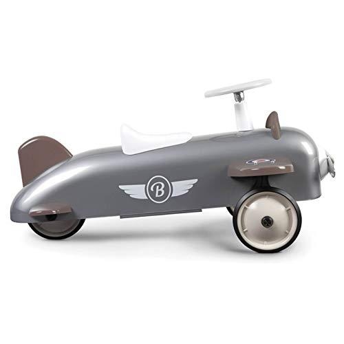Baghera 878 - Rutscher Flugzeug, grau, 75x48x37 cm, 1-3 Jahre, Rutschauto