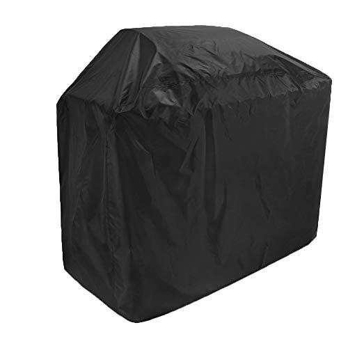 YYQIANG Housse carrée pour foyer de terrasse et salle à manger en tissu Oxford 210D Noir, Tissu Oxford, 170X61X117CM