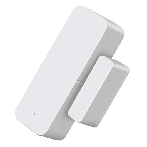 SOLUSTRE Sensor de Puerta Inalámbrico App Control Ventana Entrada Interruptor de Advertencia Recordatorio Abierto