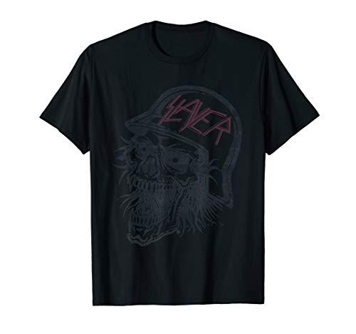 Slayer Distressed bloody skull T Shirt T-Shirt