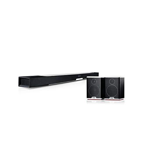 Teufel Cinebar Lux Surround 5.0-Set Weiß / Schwarz-Weiß Surround Soundbar Bluetooth Dynamore 3D Heimkino Musik