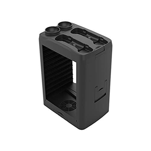 zrshygs Para Consola PS5 Base de enfriamiento Multifuncional Universal con Soporte de Almacenamiento de Disco con asa para Auriculares