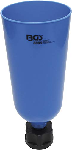 BGS 8899 | Öl-Einfülltrichter mit Bajonettadapter für VAG, Mercedes-Benz, BMW, Porsche, Volvo | 2 l