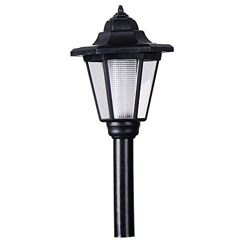 SkyTalent Garden Solar Lamp Post Light - 18.3in Tall Decorative Outdoor Solar Garden Lamp Post Lights for Patio Pathway Walkway Decorative Lighting