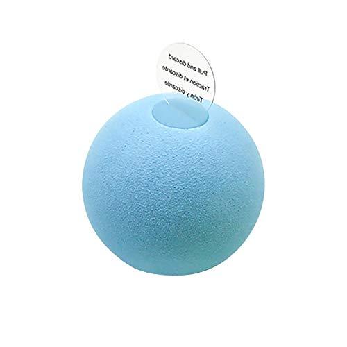 Sungpune Juguete de la Bola de la Bola Suave del Gato Ejercicio para Mascotas Cazador de Juguete estimula el Instinto de Caza EVA Gatito Divertido del Cazador de Rodillo Juguete para