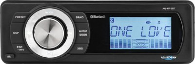 Aquatic AV AQ-MP-5BT-H Factory Harley Davidson Replacement AM/FM Radio with Bluetooth & MP3 Media Player Stereo