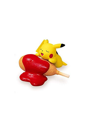Pokemon Pikachu loves Ketchup Mini Figure #2~Single piece