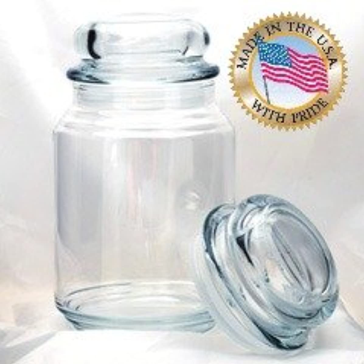 26 Oz Elevation Terrace Jar W/ Dome Lid Per Doz