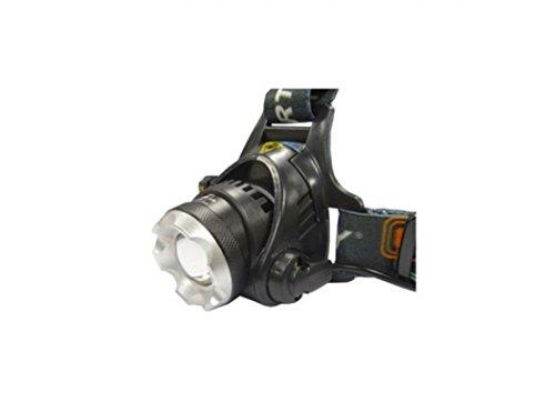 EDM 36054 Linterna de Cabeza - 1 Super Led T6, 10W, negro