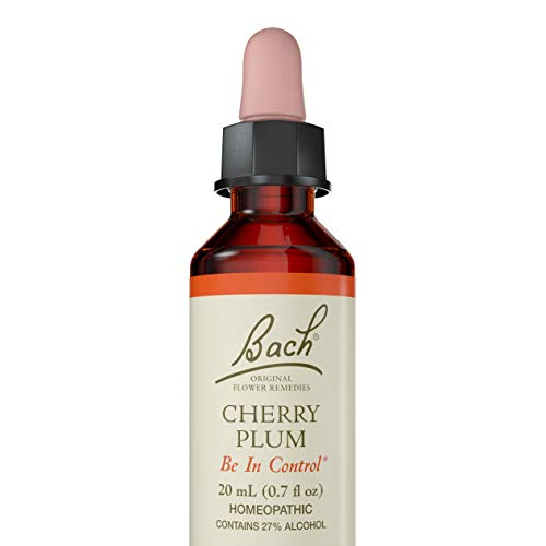 Bach Original Flower Remedies Supplement, Cherry Plum, 20 ml, 0.7 Fluid Ounce