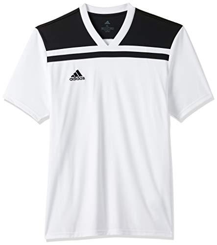 adidas Herren Regista 18 JSY T-Shirt, White/Black, 11-12Y