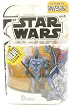 Hasbro Star Wars The Clone Wars Clone Wars Cartoon Network Durge Action Figure