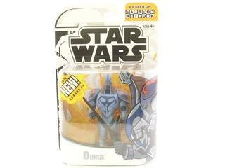 Star Wars Clone Wars 2003 Durge figure
