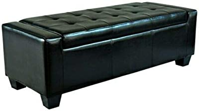 Strange Amazon Com Christopher Knight Home Rothwell Black Bonded Alphanode Cool Chair Designs And Ideas Alphanodeonline