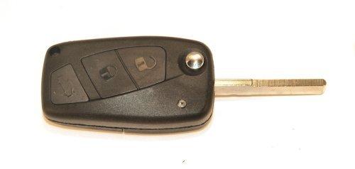 KLEMAX Coque de clé Adaptable Fiat Brava, Fiat Panda ou Fiat Stilo référence: FIA305C