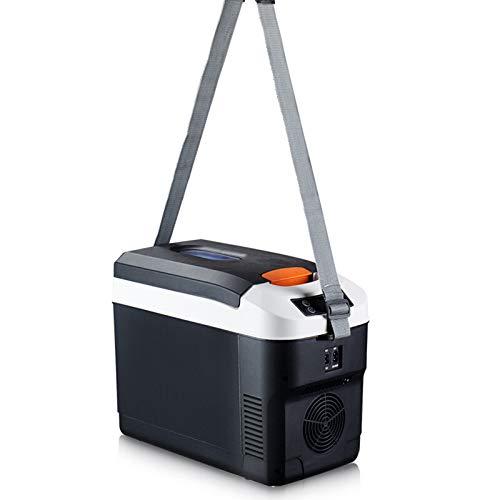 Saturey Thermo-Elektrische Kühlbox, Mini-Kühlschrank Für Auto, LKW Und Steckdose 12V&220V, Auto Camping Outdoor,25L