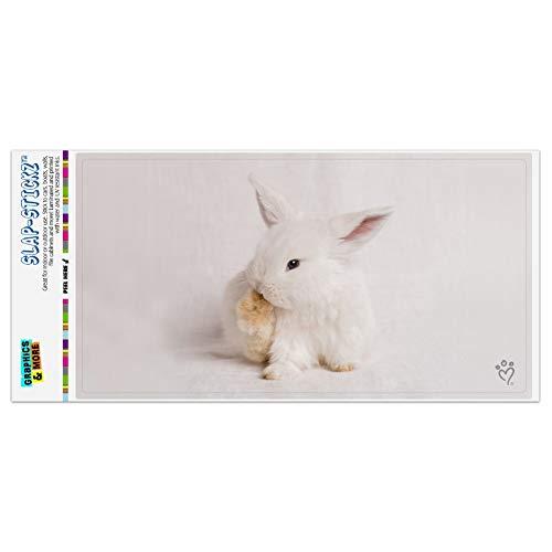 GRAPHICS & MORE Lop Ears Miniature Bunny Rabbit Automotive Car Window Locker Bumper Sticker