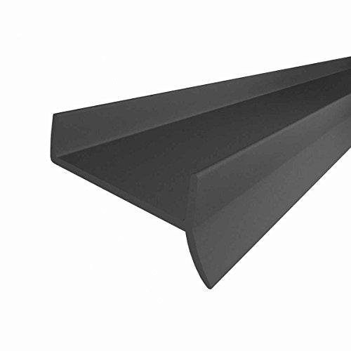 STEIGNER Küchenleiste Küchensockel DPD Abdichtungsprofil Sockel 18mm / 19mm Dichtung erneuern 1,5m Dichtprofil GRAU