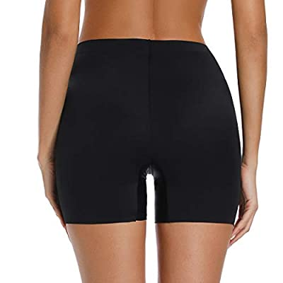 Women's Seamless Smooth Slip Shorts for Under Dresses Thigh Slimmer Shapewear Shorts Anti Chafing Boyshorts