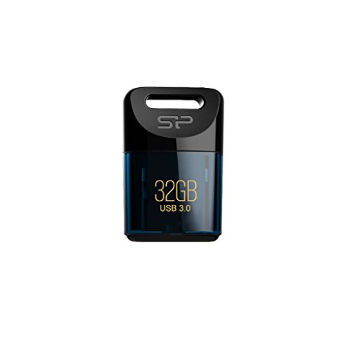 silicon power flash drive brands Silicon Power 32GB USB 3.0 J06 Jewel Flash Drive, Deep Blue (SP032GBUF3J06V1D)