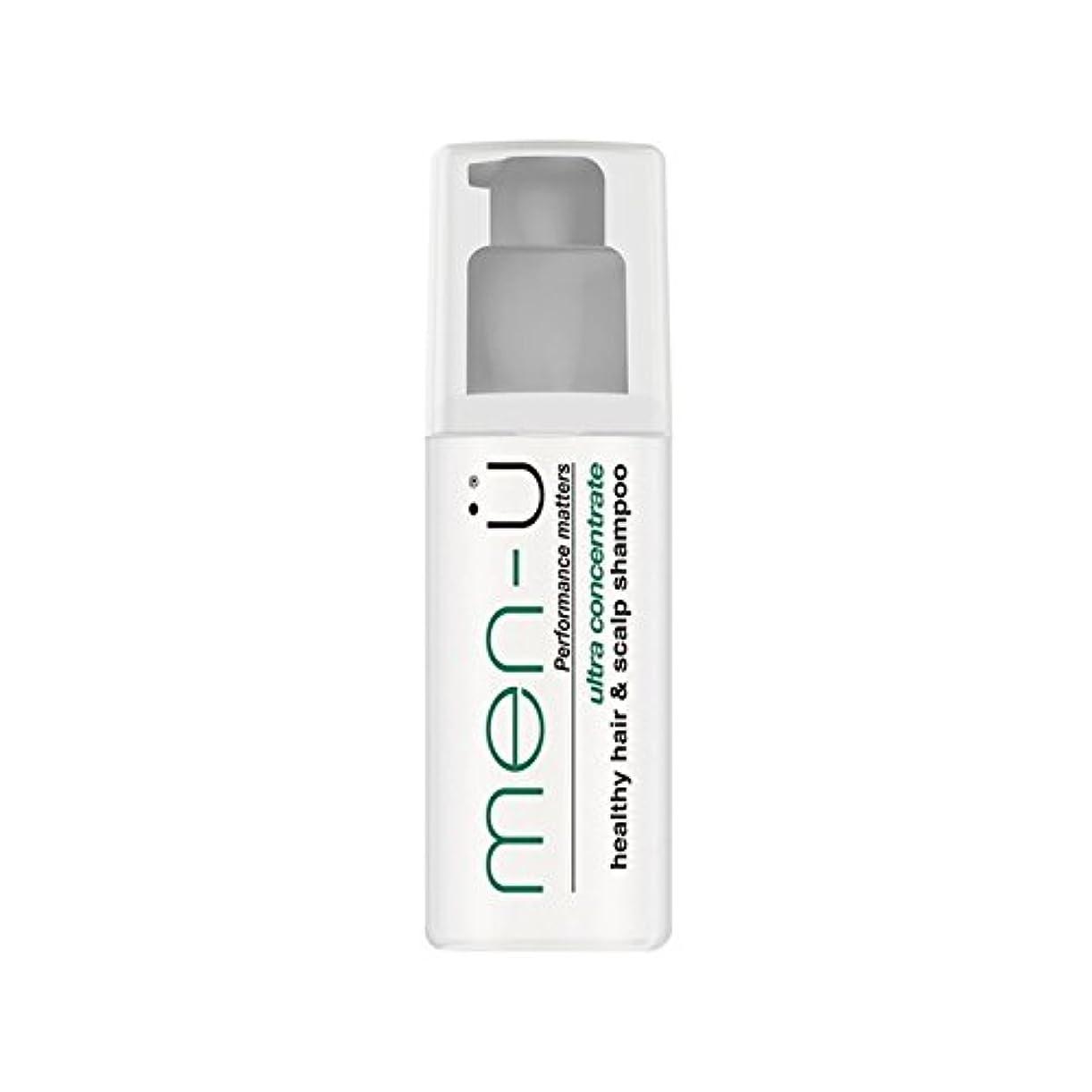 グッゲンハイム美術館要件失うMen-? Healthy Hair And Scalp Shampoo (100ml) (Pack of 6) - 男性-?健康な髪と頭皮シャンプー(100ミリリットル) x6 [並行輸入品]