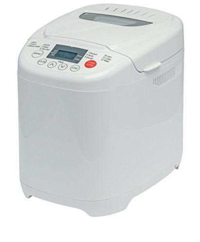 Medion Md 14752 Brotbackautomat 580 Watt, Fassungsvermögen 700-1000 G, 12 Backprogramme, Warmhaltefunktion Weiß