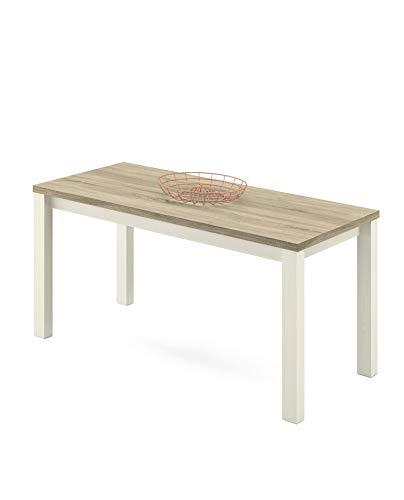 Preisvergleich Produktbild Artik Esstisch Pinie + Eiche Cambrian Nb. 150x80 cm Küchentisch Schreibtisch 4 Fuß Tisch