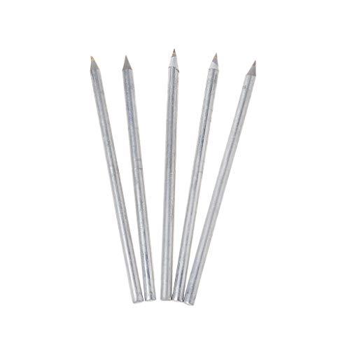 Ontracker 5 cortadores de azulejos profesionales, metal duro, lápiz de metal duro, herramienta de corte de cristal