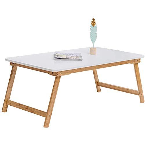 Table Pliante Ordinateur Table Paresseuse Japonais-Style Table à Café Simple Bureau Dortoir étudiant Portable Table De Camping Multi-Taille A 60x40x25cm(24x16x10inch)