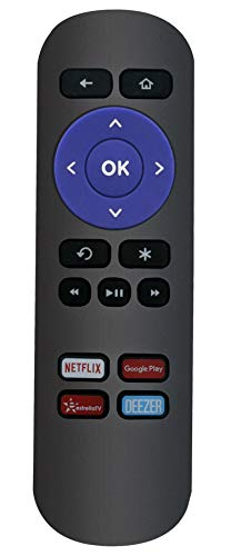 VINABTY Replace IR Remote Control fit for Roku Streaming Express Premium 1 2 3 4 4620XB 3920X 3920XB 3920R 3921RW 3920RW 3900RW 4620RW 4620R 3700RW 3710RW 3710XB 3900XB 4620XB 3700R 3900R 3050R 3700XB