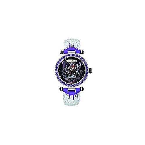 Marc Ecko Reloj Análogo clásico para Mujer de Cuarzo con Correa en Cuero E15087M1
