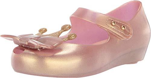 mini melissa Girl's Ultragirl Princess Me BB (Toddler/Little Kid) Metallic Pink 9 Toddler