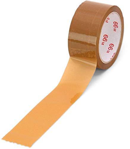 PP-Packband braun 50 mm x 66 m Hotmelt-Kleber laut ** Verpackungseinheit: 36 Rolle **