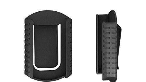 Wiha Gürtelclip für Bit Set BitBuddy® und FlipSelector (36990), Bithalter, Set, Öffnen per Knopfdruck, schneller Bitwechsel, passt in die Hosentasche
