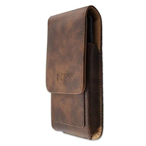 caseroxx Outdoor Tasche für Sharp Aquos D10, Tasche (Outdoor Tasche in braun)