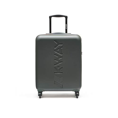 K-Way Trolley cabina bagaglio a mano K-Air colore VERDE misure: 40x55x20