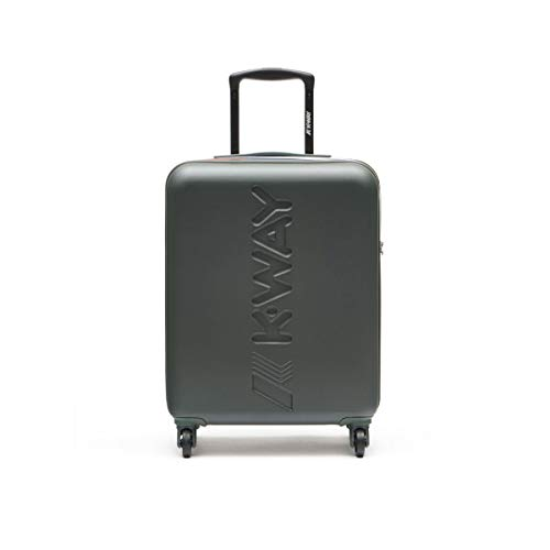 K-Way K-Air - Maleta con ruedas para cabina de equipaje de mano, color verde, medidas: 40 x 55 x 20 cm