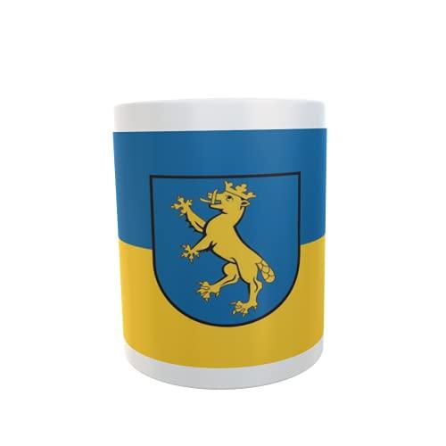 U24 Tasse Kaffeebecher Mug Cup Flagge Biberach an der Riß