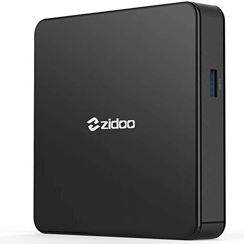 Zidoo X7 mini-PC med Android 7.1, 4K 3D 2 GB svart
