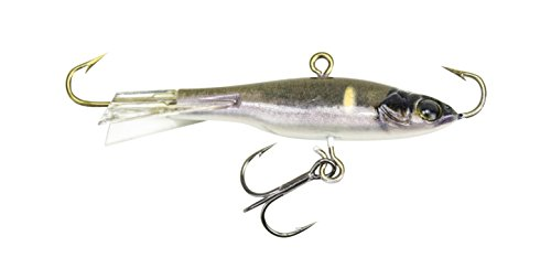 Lunkerhunt Straight Up Jig Fishing Lure, Common Shiner